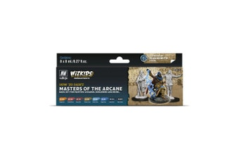 Wizkids Premium Paint Set By Vallejo: Masters of the Arcane