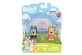 Bluey Mini Figurines 2 Pack Season 2 Pool Time