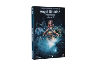 PRE-ORDER: Painting Miniatures From A To Z Angel Giraldez Masterclass Vol 2