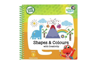 PRE-ORDER: Leapfrog Leapstart 3D Shapes and Colours Activity Book