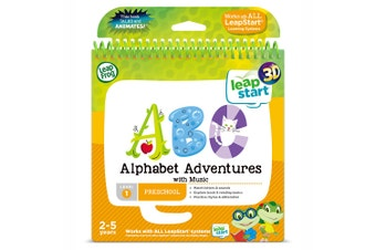 LeapFrog Leap Start Alphabet Adventures with Music Story Book