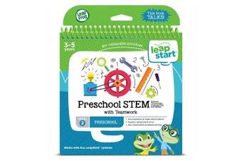 Leapfrog Leapstart Preschool STEM with Teamwork Story Book