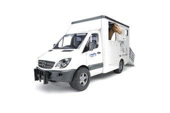 Bruder 1:16 Mercedes Benz Sprinter Animal Transporter