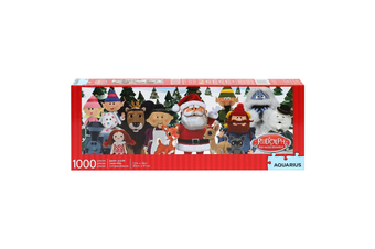 Rudolf the Red-Nosed Reindeer Slim 1000 Piece Jigsaw Puzzle