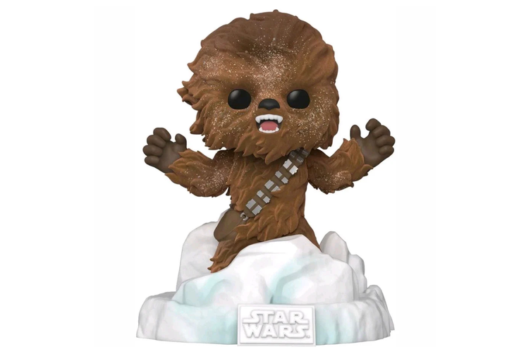 Star Wars Chewbacca Flocked Funko POP! Vinyl Deluxe Diorama
