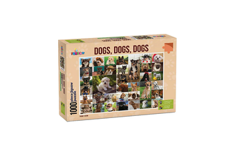 Funbox Dogs Dogs Dogs 1000 Piece Jigsaw Puzzle