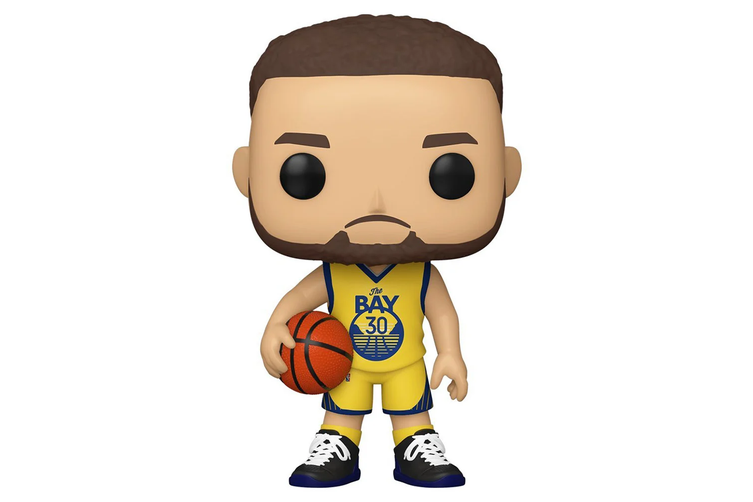 NBA Golden State Warriors Steph Curry Alternative Uniform Funko POP! Vinyl