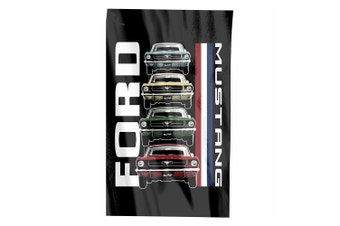 Ford Mustang Cape Flag