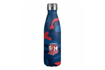 NRL Sydney Roosters Stainless Steel Drinking Bottle