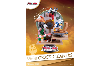 Beast Kingdom D-Stage Disney's Mickey Mouse, Clock Cleaners Statue
