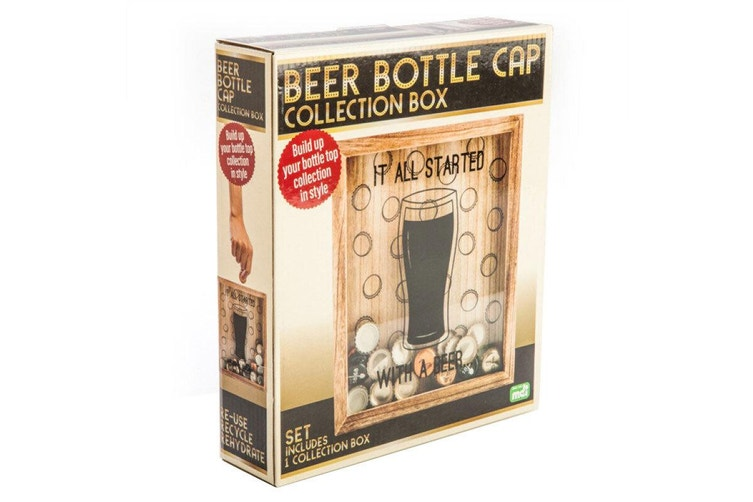 MDI Beer Bottle Top Collection Box