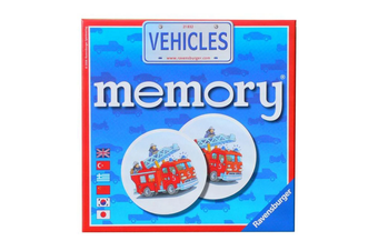 Ravensburger Vehicles Memory Card Game