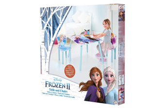 Disney's Frozen 2 Table and 2 Chairs Set