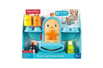 Fisher-Price Stack and Rattle Birdie Educational Toy