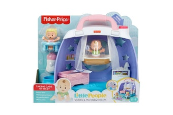 Fisher Price Little People Cuddle & Play Nursery Play Set