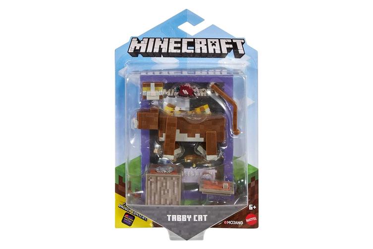 Minecraft Comic Maker Action Figure Tabby Cat