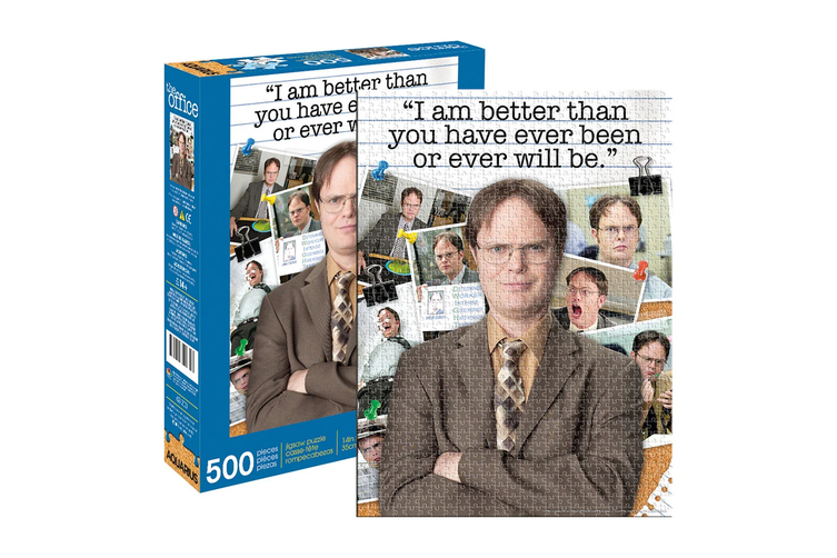 Aquarius The Office Dwight Schrute Quote 500 Piece Jigsaw Puzzle