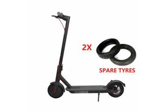 Xiaomi Mi M365 Folding Electric Scooter International Version with 2 spare tyres - Black