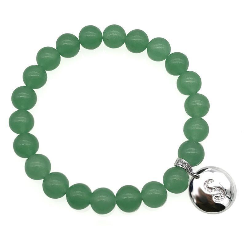 Gravel green aventurine bracelet