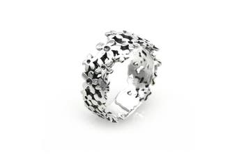 Flower 925 Sterling Silver Ring