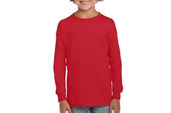 Gildan Ultra Cotton Youth Long Sleeve T-Shirt