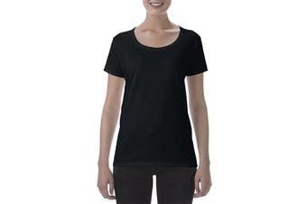 Gildan Ladies Deep Scoop T-Shirt