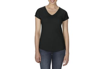 Anvil Women's Tri-Blend V-Neck T-Shirt