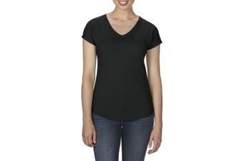 Anvil Women's Tri-Blend V-Neck T-Shirt