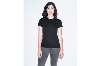 American Apparel Women's Fine Jersey Short Sleeve T-Shirt