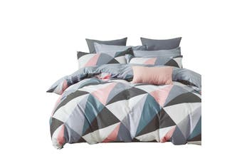Gioia Casa Jane 100% Cotton Cover 250 TC Quilt Cover Set Multi King