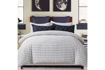 100% Cotton Reversible Bedding Duvet Doona Quilt Cover Set King - Fred