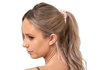 Gioia Casa Mulberry Silk Hair Ring Scrunchie Elastic 3 Pack Standard Scrunchie