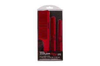 Babyliss Pro Barberology Comb Set 3pc