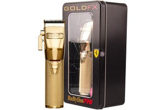 Babyliss Pro Gold FX Lithium Clipper - Gold