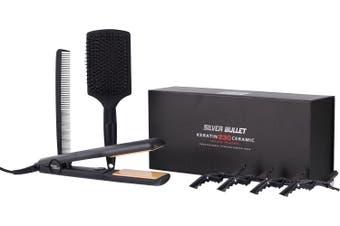 Silver Bullet Keratin 230C Ceramic Wide Hair Straightener