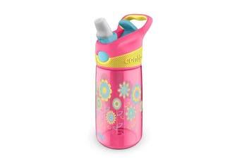 Contigo Kids Autospout Striker Water Bottle - Flowers
