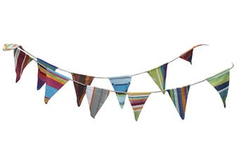 Cotton Canvas Bunting - Stripes