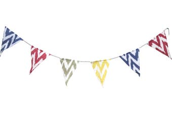 Cotton Canvas Bunting - Ikat