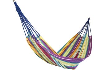 Designer Striped Cotton Hammock - Mixed Colours (Cochine)