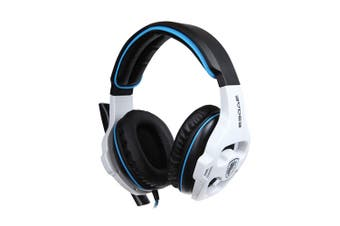 Sades SA - 903 Stereo 7.1 Surround Sound Pro USB Gaming Headset with Mic Headband Headphone