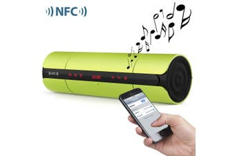 Multifunctional Portable KR8800 Matte Wireless Bluetooth V3.0 NFC Speaker with LED Screen FM Radio