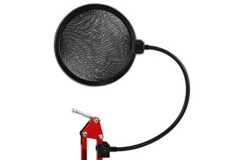 Flexible Mic Microphone Studio Wind Screen Pop Filter