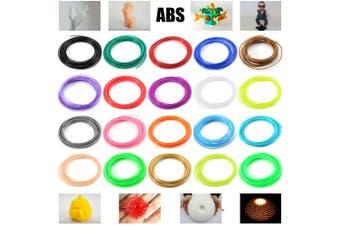 5m 1.75mm Sunlu ABS 3D Printer Filament Print Supplies 20 Colors