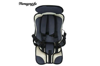 Mumugongzhu Comfortable Breathable Thickening Adjustable Children Car Seat-Griege