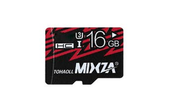 MIXZA TOHAOLL U3 Micro SD Card Memory Cards Data Storage Gadget(16GB)