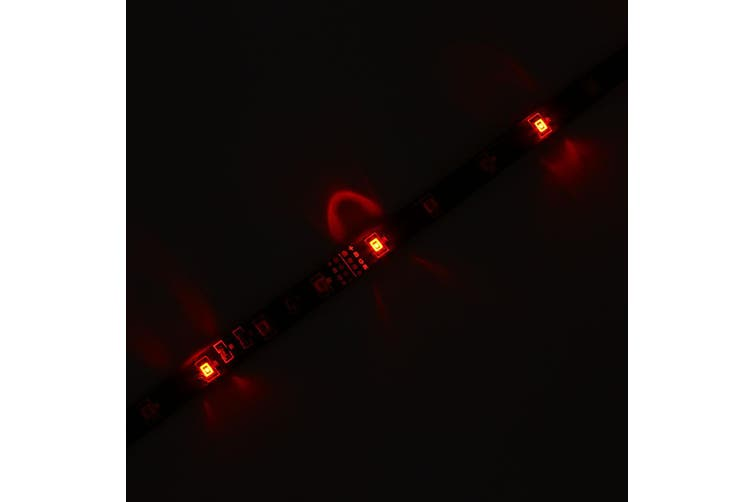 5M DC 12V SMD 3528 LED Strip Light Waterproof Flexible Daytime Running lights-Red