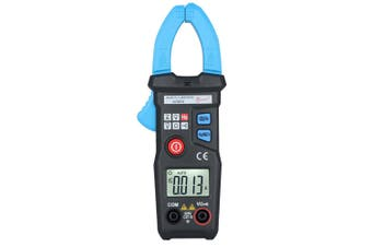 BSIDE Smart AC Digital Clamp Meter 6000 Counts with Frequency / Non-contact Voltage Detection-BLACK &  BLUE