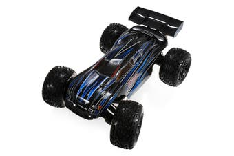 JLB Racing 1:10 4WD RC Brushless Off-road Truck 80km/h 2.4GHz 2CH with Splashproof Anti-shock Wheelie Function- With 80A ESC-Black