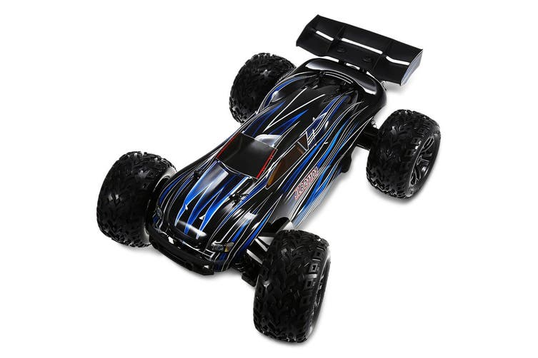 JLB Racing 1:10 4WD RC Brushless Off-road Truck RTR 80 - 100km/h/Wheelie Function-With Hobbywing 120A ESC