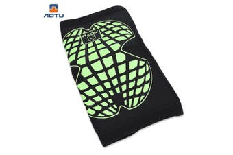 AOTU Sports Safety Knee Sleeves Protector Support for Soccer Football Cycling Running-Size M